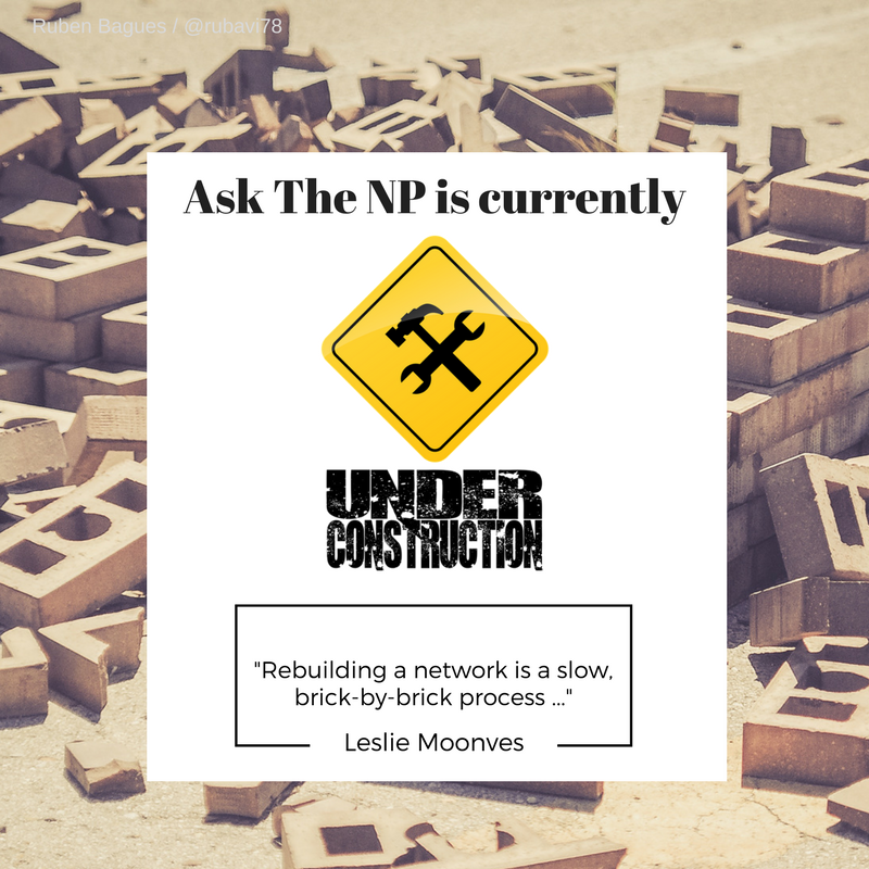 """Rebuilding a network is a brick-by-brick process … """